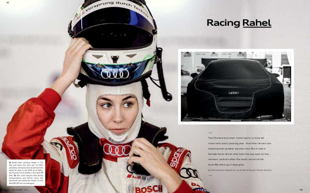 Racing Rahel – Audi Magazine