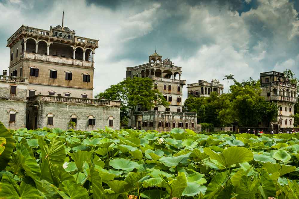 That's Shanghai. 24 hours in Kaiping.