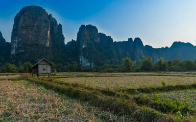 Vacations & Travel. Metamorphosis of Vang Vieng.
