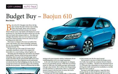 Talk. Budget Buy – Baojun 610.