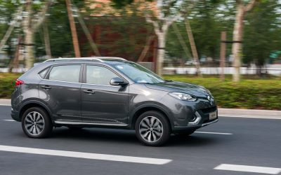 MG Enthusiast. The MG GS in China.