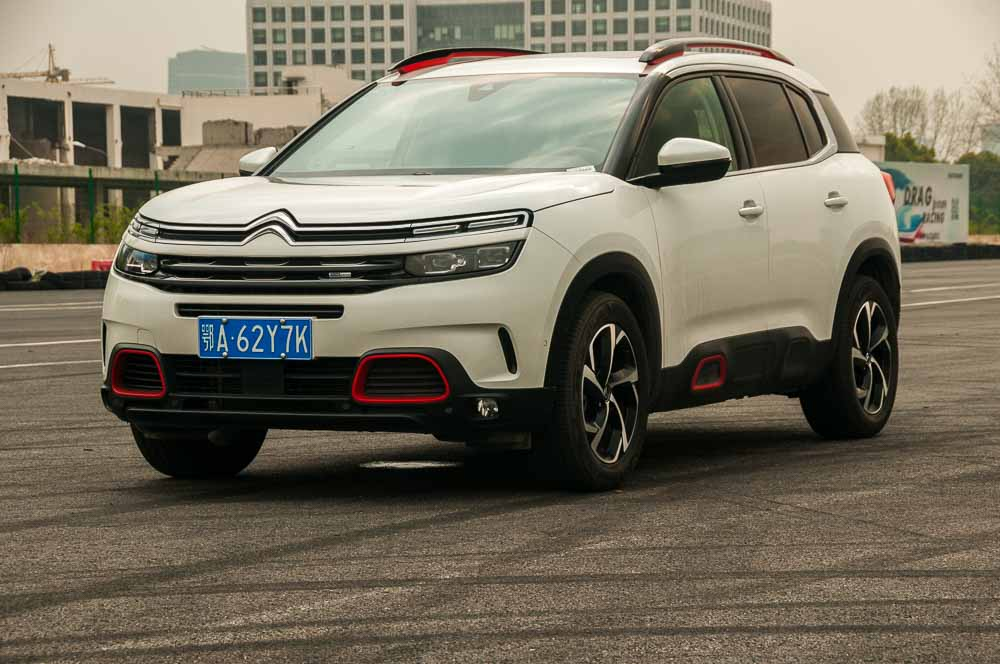Auto Express. Citroen C5 Aircross test drive.