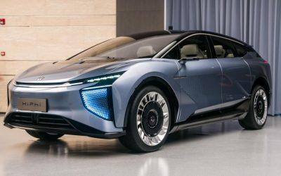 Car Design News. First Sight: Human Horizons HiPhi 1.