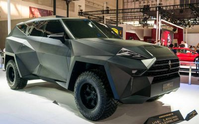 Autocar. IAT Kalman – £1 million SUV on display in Beijing.