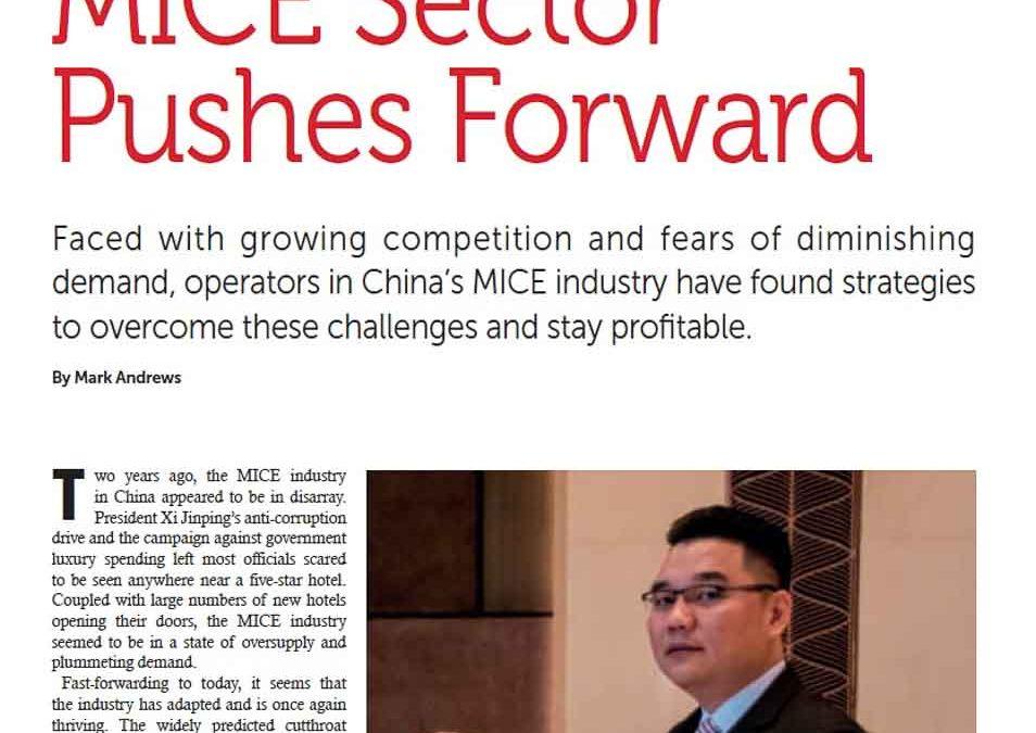 SBR. MICE Sector Pushes Forward.
