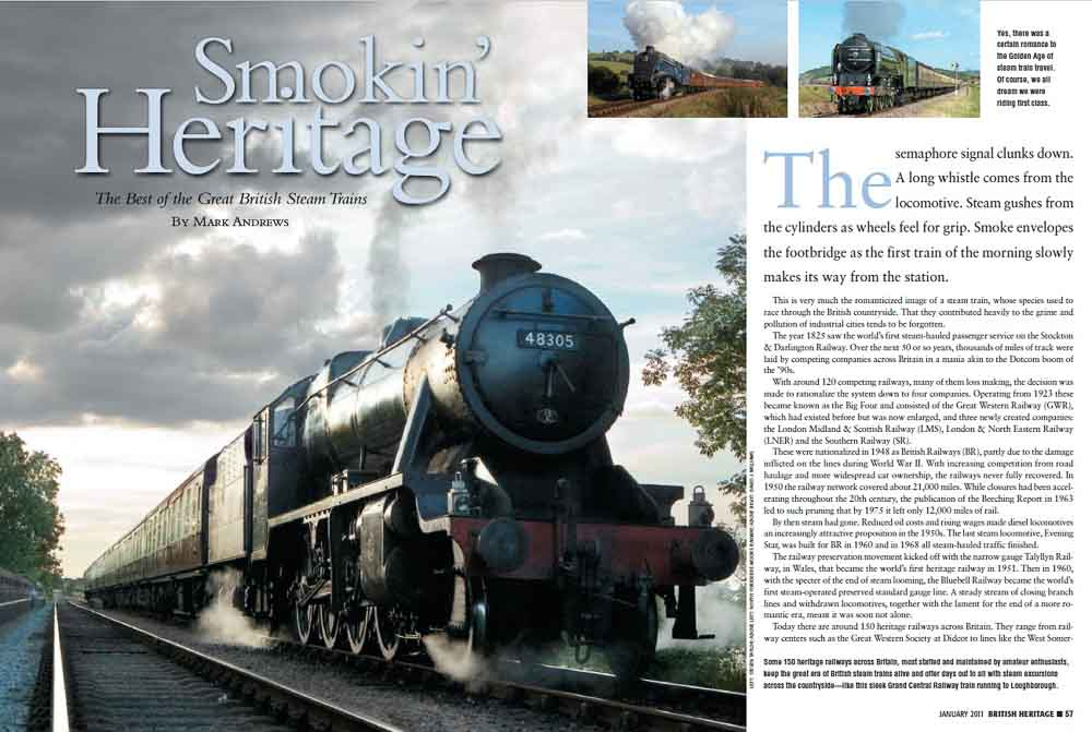 British Heritage. Smokin' Heritage.