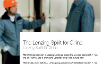 Lenzing Inside. The Lenzing Spirit for China.