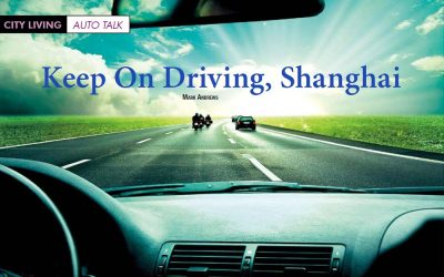 Talk. Keep on Driving, Shanghai.