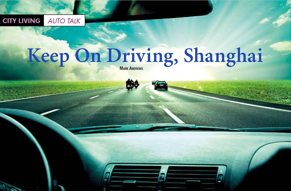Talk. Keep on Driving, Shanghai.