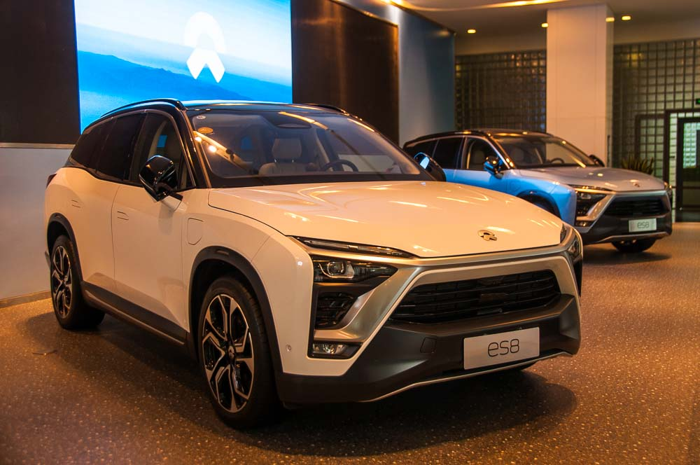 Car Design News. Colin Phipps shows us around Nio's recently opened Shanghai studio.