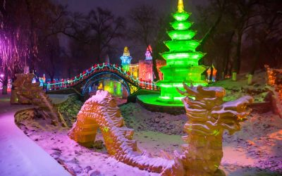 That's Shanghai. 24 hours in Harbin. Travel article.
