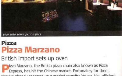 City Weekend. Pizza Marzano. Restaurant review.