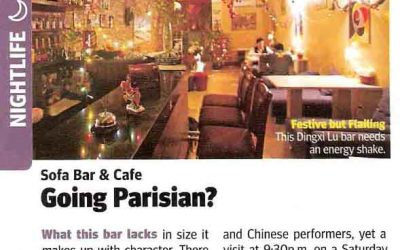 City Weekend. Sofa Bar and Café – Going Parisian?