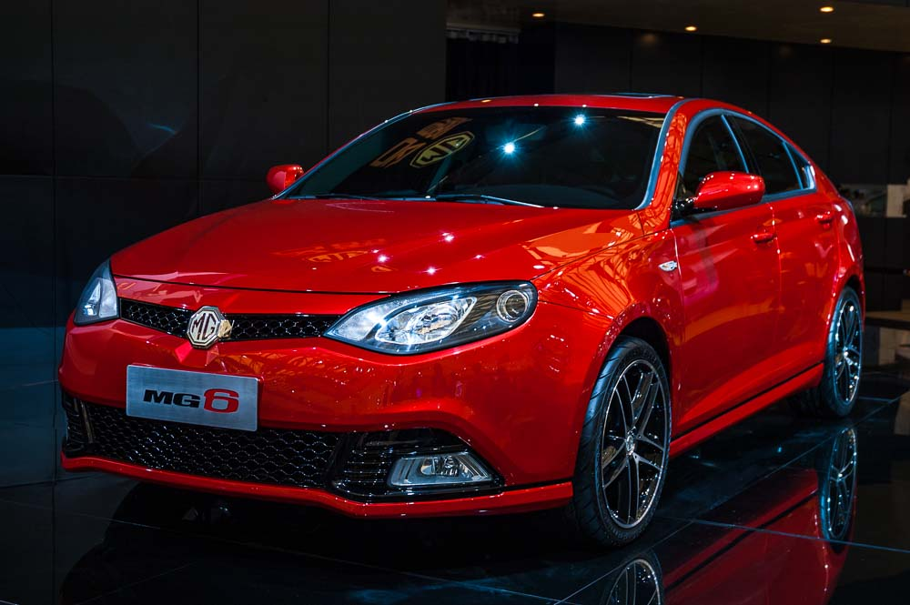 SCMP. Up to the Marque. Car review of the MG 6.