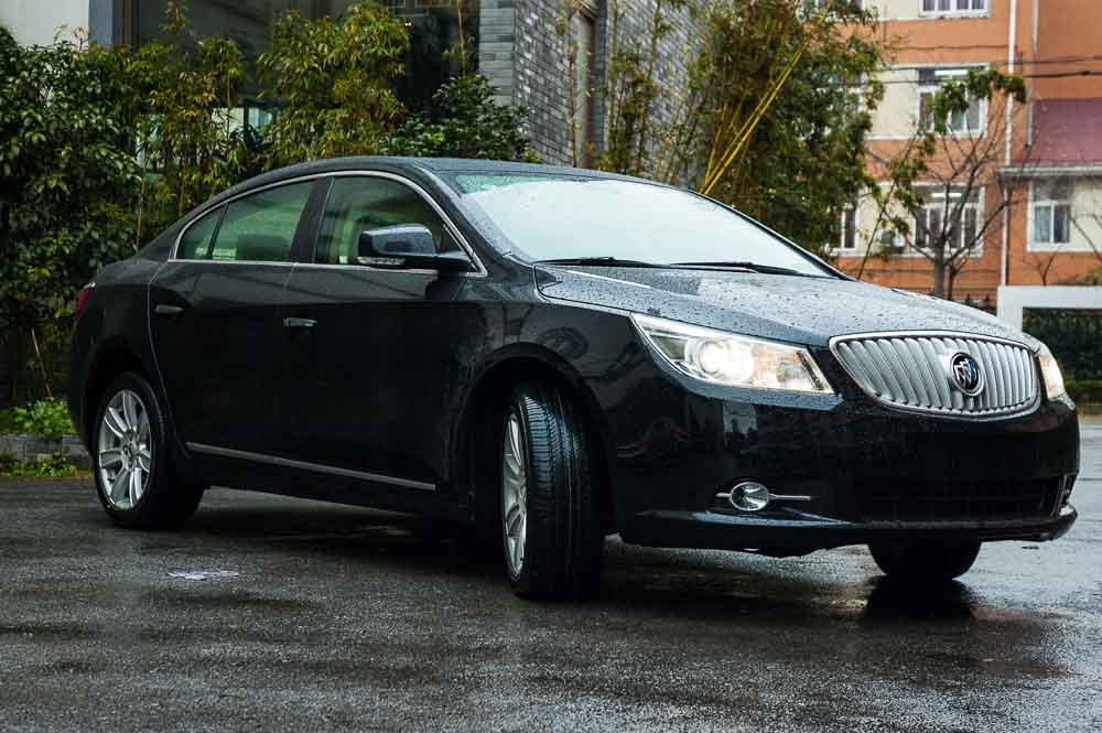 SCMP. Quiet American. Car review of the Buick LaCrosse.