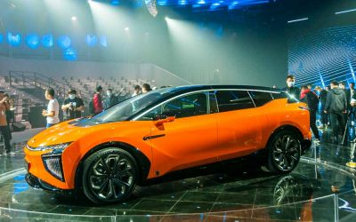 Car Design News. Human Horizons unveils HiPhi X luxury electric SUV.