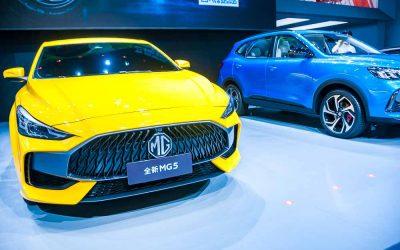 Car Design News. SAIC envisions a brighter future for the MG 5 reboot.