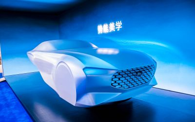 Car Design News. Ford sculpts the future at the Beijing Auto Show