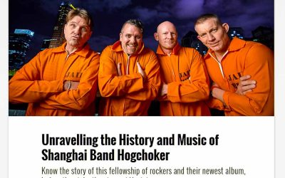 Smart Shanghai. Unravelling the History and Music of Shanghai Band Hogchoker.
