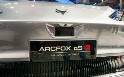 Car Design News. Arcfox's Alpha S aims to break boundaries of design.