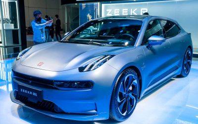 Car Design News. Space Zeeker: Lynk & Co's Zeekr 001.