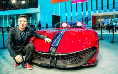 Car Design News. SAIC design chief unpicks the MG Cyberster.